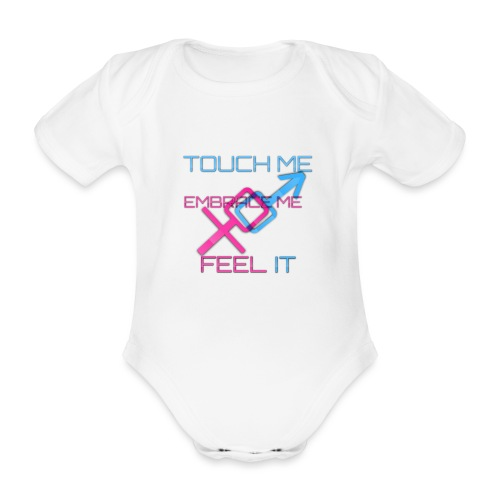 Sex and more up to - Organic Short-sleeved Baby Bodysuit