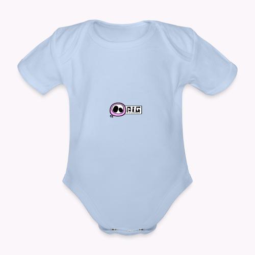 logo_PIGstudio-png - Body ecologico per neonato a manica corta