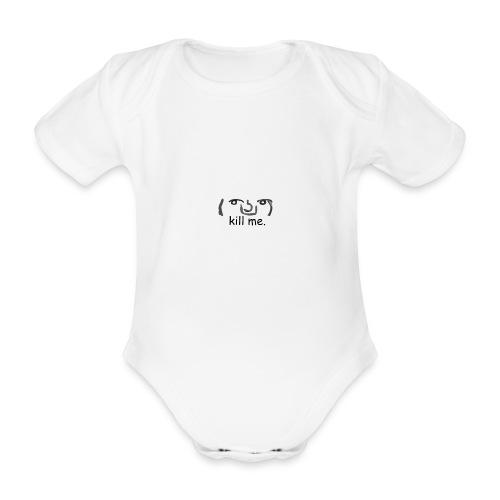 Kill me Lenny - Organic Short-sleeved Baby Bodysuit