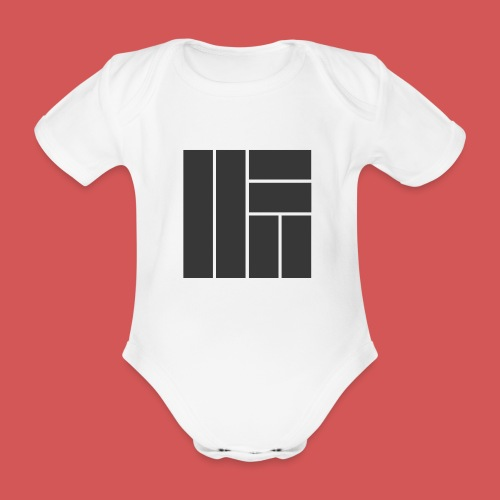 NÖRCup Black Iconic Edition - Organic Short-sleeved Baby Bodysuit