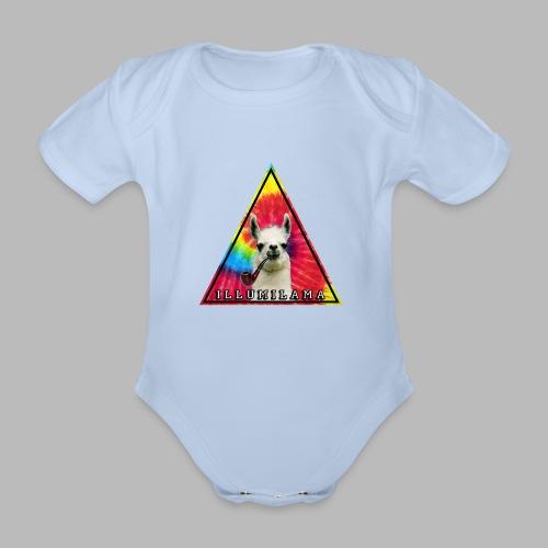 Illumilama logo T-shirt - Organic Short-sleeved Baby Bodysuit