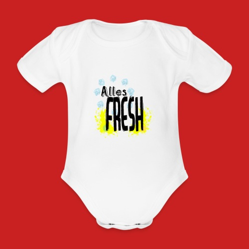 Alles Fresh / Frisch Sommer Eis - Baby Bio-Kurzarm-Body