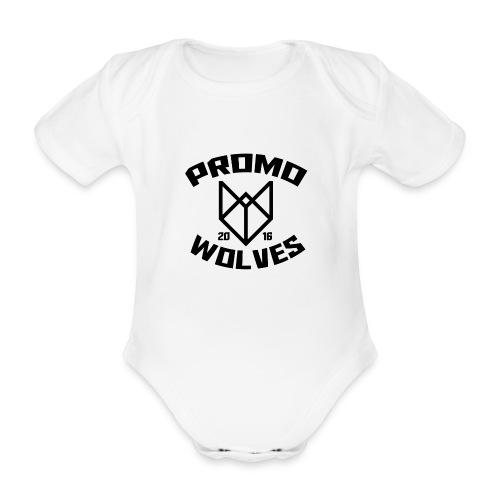 Big Promowolves longsleev - Baby bio-rompertje met korte mouwen