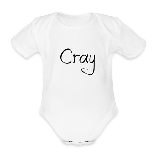 Cray Black Schrifft - Baby Bio-Kurzarm-Body