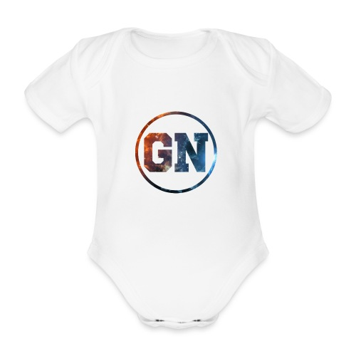 GainsNation galaxy - Ekologisk kortärmad babybody