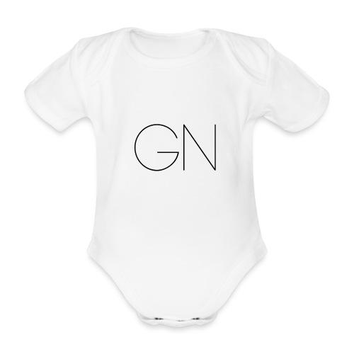 Långärmad tröja GN slim text - Ekologisk kortärmad babybody