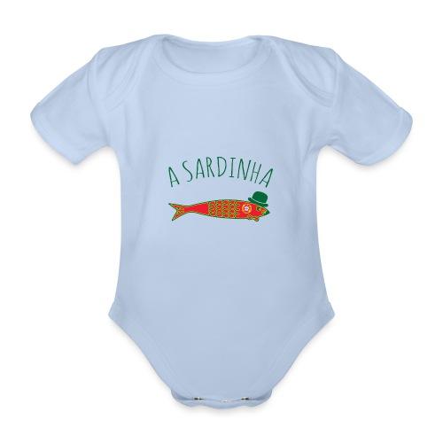A Sardinha - Bandeira - Body Bébé bio manches courtes