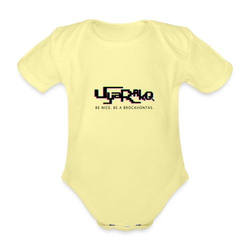 Brocahontas - Organic Short-sleeved Baby Bodysuit