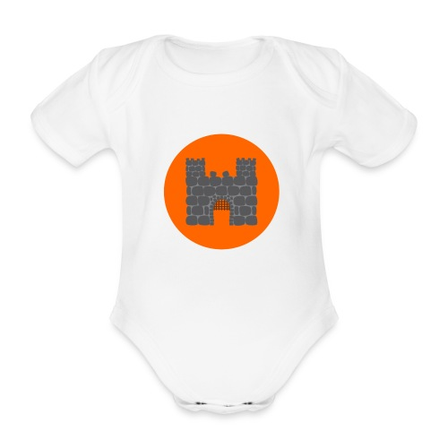 Borg - Ekologisk kortärmad babybody