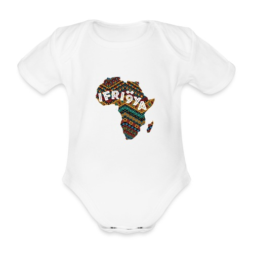 Africa - Ifriqya - Body Bébé bio manches courtes