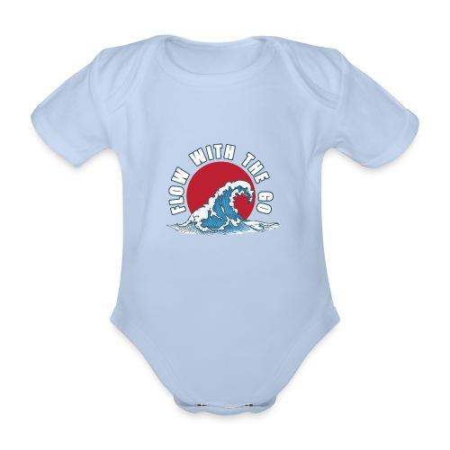 flow with the go - Ekologiczne body niemowlęce z krótkim rękawem