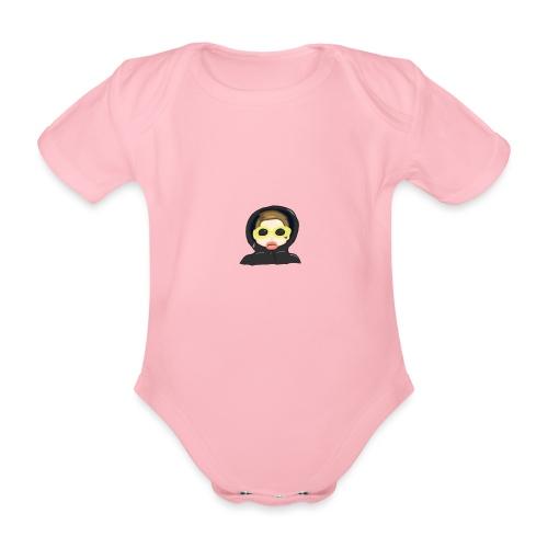 Portrait - Organic Short-sleeved Baby Bodysuit