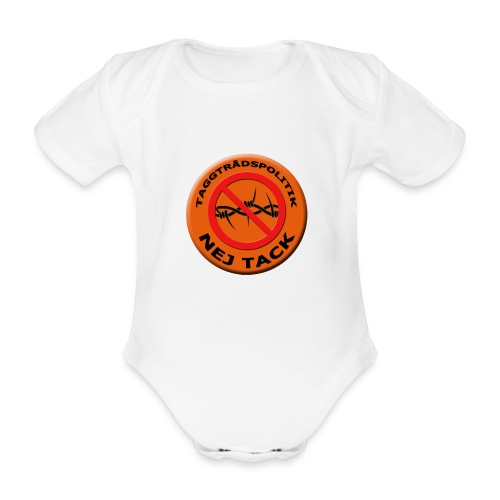 Taggtrådspolitik Ny - Ekologisk kortärmad babybody