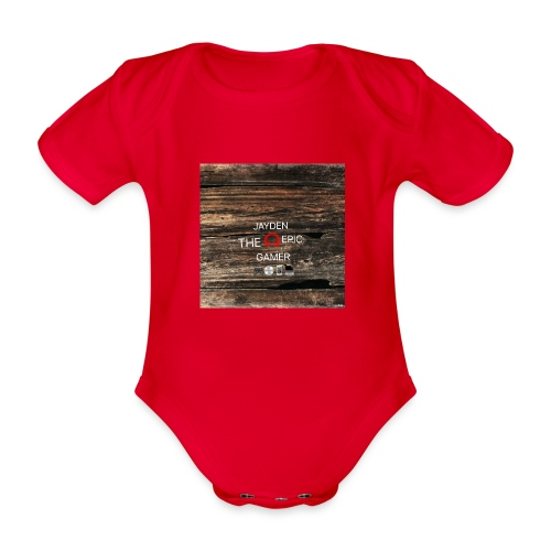 Jays cap - Organic Short-sleeved Baby Bodysuit