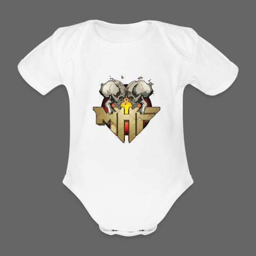 new mhf logo - Organic Short-sleeved Baby Bodysuit