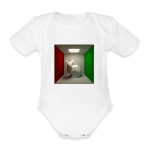 Bunny in a Box - Organic Short-sleeved Baby Bodysuit