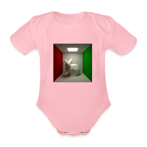 Bunny in a Box - Organic Short-sleeved Baby Bodysuit