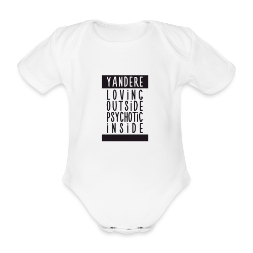 Yandere manga - Organic Short-sleeved Baby Bodysuit
