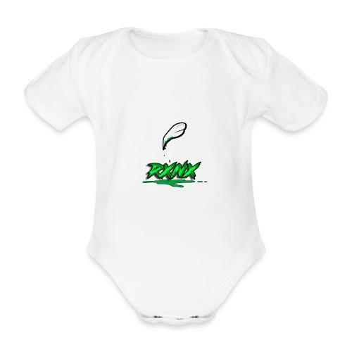 claw rx - Body ecologico per neonato a manica corta