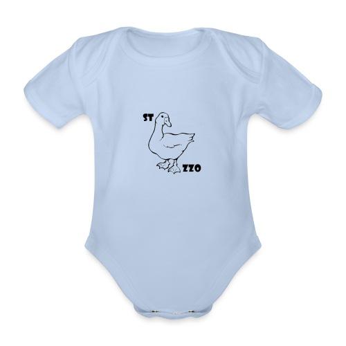 REBUS...STOCAZZO - Body ecologico per neonato a manica corta