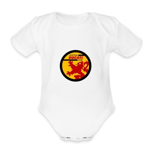 GIF logo - Organic Short-sleeved Baby Bodysuit