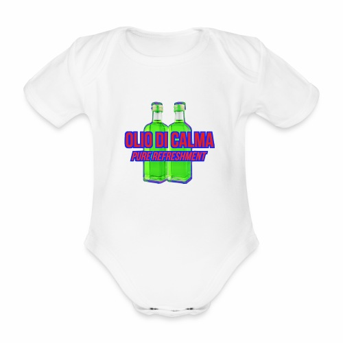 OLIO DI CALMA LINE - Body ecologico per neonato a manica corta