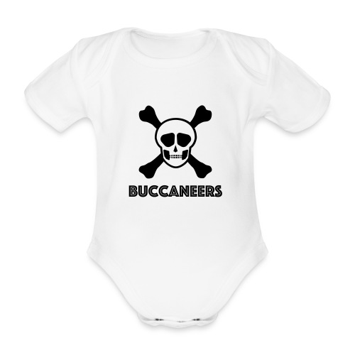 Buccs1 - Organic Short-sleeved Baby Bodysuit