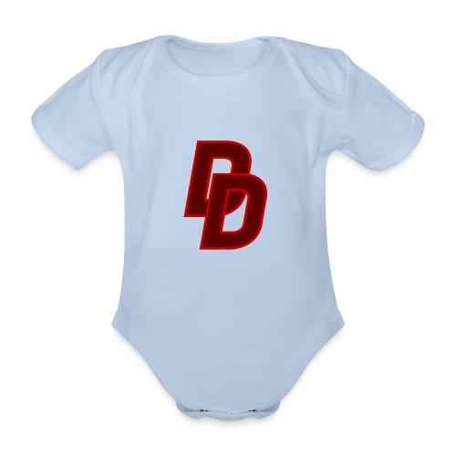 Daredevil Logo - Organic Short-sleeved Baby Bodysuit