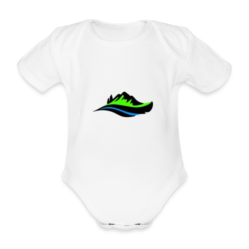 Modern Hoodie Unisex - Ekologisk kortärmad babybody
