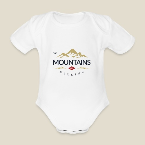 Outdoor mountain - Body Bébé bio manches courtes