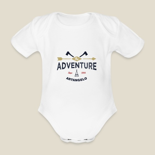 Outdoor adventure - Body Bébé bio manches courtes