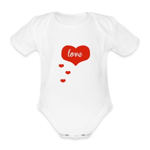 baby boo design - Organic Short-sleeved Baby Bodysuit