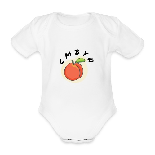 Call Me By Your Name | Pfirsich | Film - Baby Bio-Kurzarm-Body