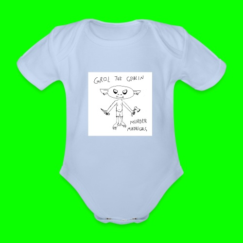 Murder Madrigals - Organic Short-sleeved Baby Bodysuit