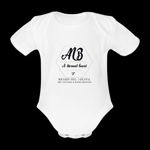 Beard Oil   Oliva Logo - Baby Bio-Kurzarm-Body