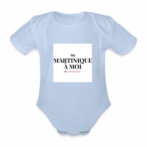 Ma Martinique à Moi - Body Bébé bio manches courtes