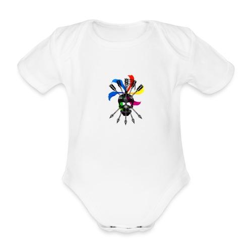 Blaky corporation - Body orgánico de maga corta para bebé
