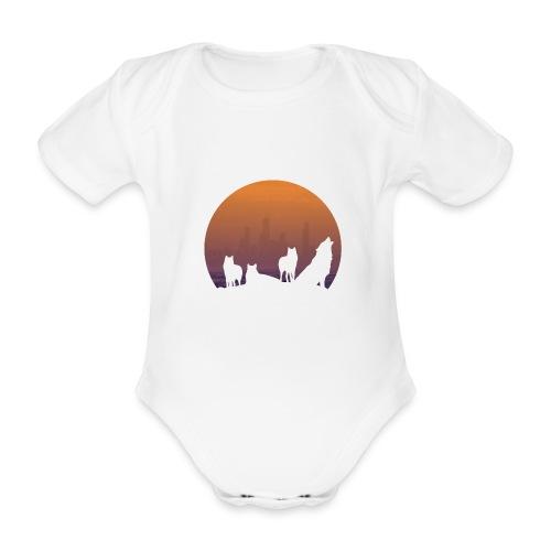 Wolfsrudel - Baby Bio-Kurzarm-Body