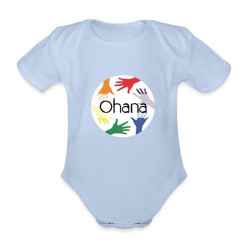 Ohana heißt Familie - Baby Bio-Kurzarm-Body