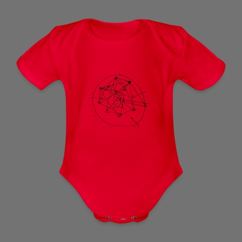 SEO strategia No.1 (musta) - Vauvan lyhythihainen luomu-body