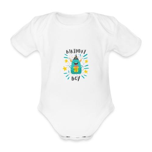Geburtstagskind Junge - Baby Bio-Kurzarm-Body
