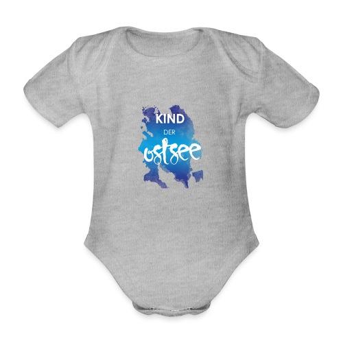 Kind der Ostsee - Baby Bio-Kurzarm-Body