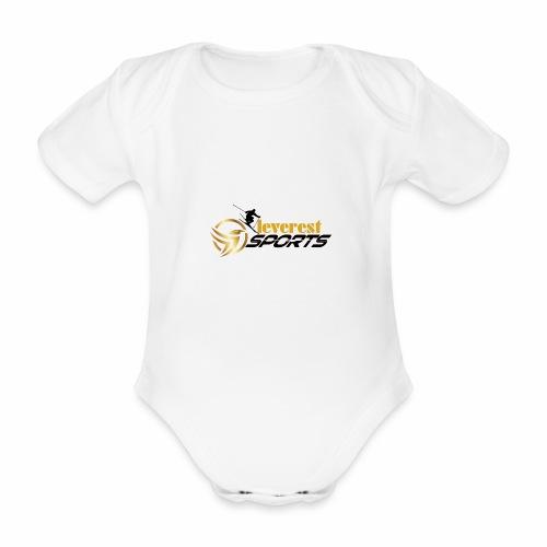 Skifahrer - Baby Bio-Kurzarm-Body