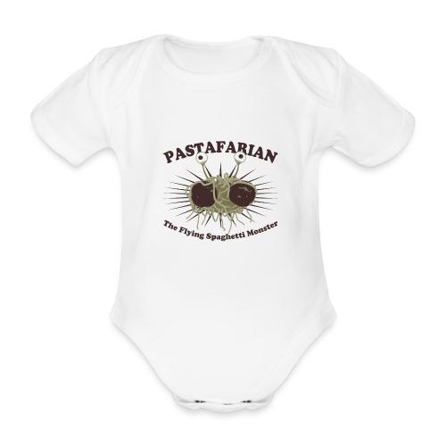 The Flying Spaghetti Monster - Organic Short-sleeved Baby Bodysuit