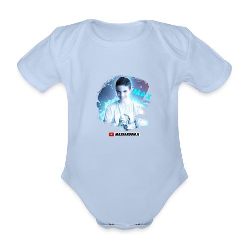 Max Random - Body ecologico per neonato a manica corta