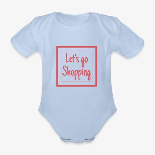 Let's go shopping - Body ecologico per neonato a manica corta