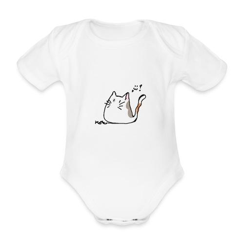 Patchouli le chat - Baby Bio-Kurzarm-Body