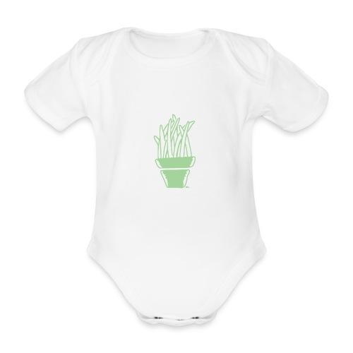 Plante d'intérieur - Baby Bio-Kurzarm-Body