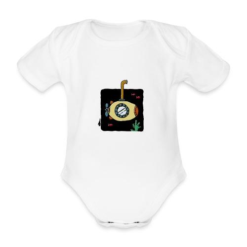 Sous-marin jaune - Baby Bio-Kurzarm-Body