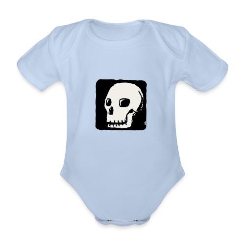 Crâne souriant - Body Bébé bio manches courtes